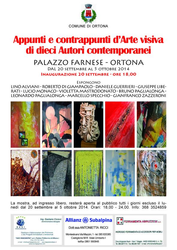 Manifesto Appunti... Ortona.indd
